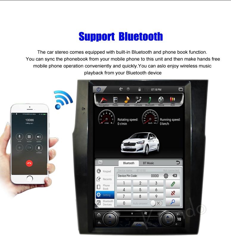 car dvd player for Citroen C4L