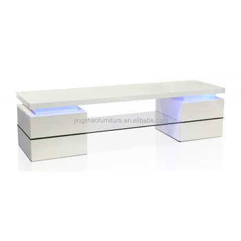 Wit Hoogglans Plank.Tv 3040 Led Wit Hoogglans Glas Plank Tv Unit Buy Product On