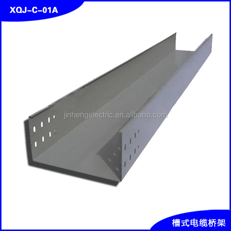 Quality solid trough stainless steel cable tray prices in sizes 600*200mm