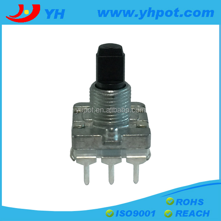 EC16 16mm rotary 3 pin encoder 24 pluse without switch
