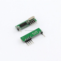 Hot sale super-heterodyne non code wireless rf receiver module KL-CW11