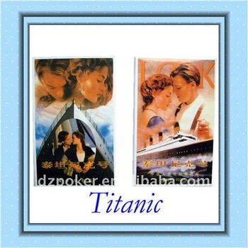 bridge size Titanic cheap poker Playing Cards