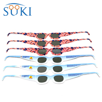 Cheap price custom logo paper 3d glasses solar eclipse glasses