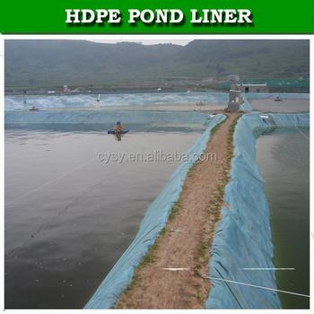 Blue Aquaculture Pond Liner Fish Farm Pool Liner Swimming