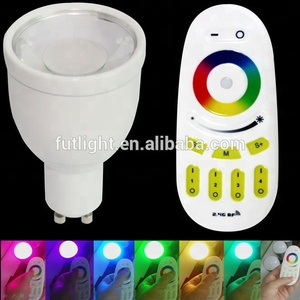 Milight home decoration led RGBW light spot rgb color changing spotlight warm white or cool white