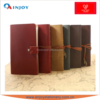 pu leather cover ring binder journal book with power bank buy pu