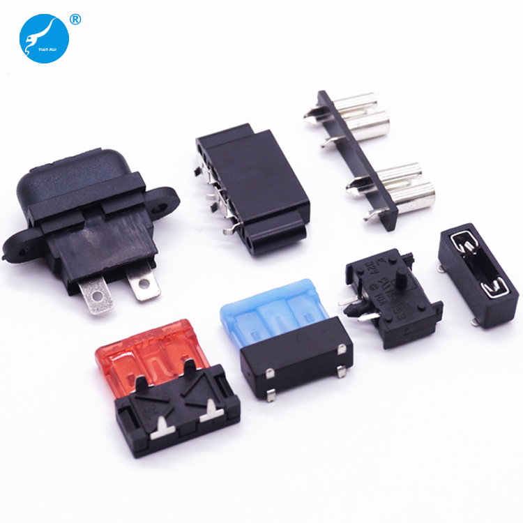 Automotive Electronic PCB Mount Blade Plug-in Fuse Holder Types, View panel  mount fuse holder, Tianrui Product Details from Dongguan Techrich  Electronics Co., Ltd. on Alibaba.comDongguan Techrich Electronics Co., Ltd. - Alibaba.com