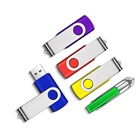 2019 Hot-sale Bulk 8GB 16GB swivel USB 2.0/3.0 32GB 64GB Customized Logo Memory Stick Flash Drive For Trade Shows,Conference