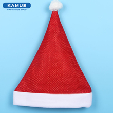 Kamus brand wholesale Custom Cheap Party Make Christmas Decorations Funny Red Santa Hat