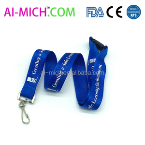 Full Color Corporate Safety Lanyard W/ Safety Release Neck Strap Promotional Dye Sublimation Lanyard