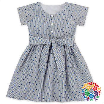 2017 Phantasie Baby-parteikleid Kinder Kleider Designs Baumwolle ...