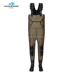 custom made waders with vulcanized boots fishing chest waders