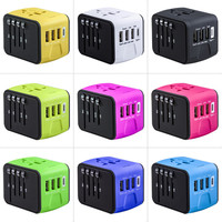 2018 hot new products travel luggage set Type C travel adapter