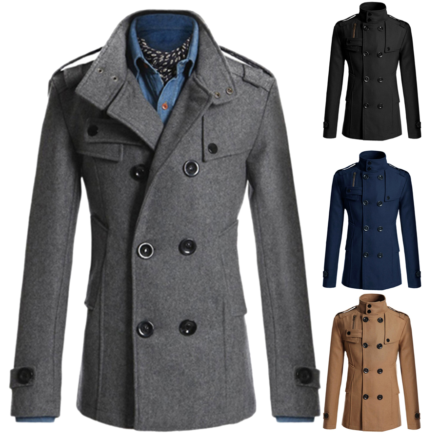 Jul 11, · Coofandy Men's Winter Classic Wool Double Breasted Pea Coat,Black,Medium Winter Classic Wool Double Breasted Pea Coat,Black,Medium Lucky Brand Men's Ayer Double Breasted Wool Coat, Navy, L Ayer.