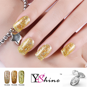new arrived shining diamond nails gel uv soak off gel