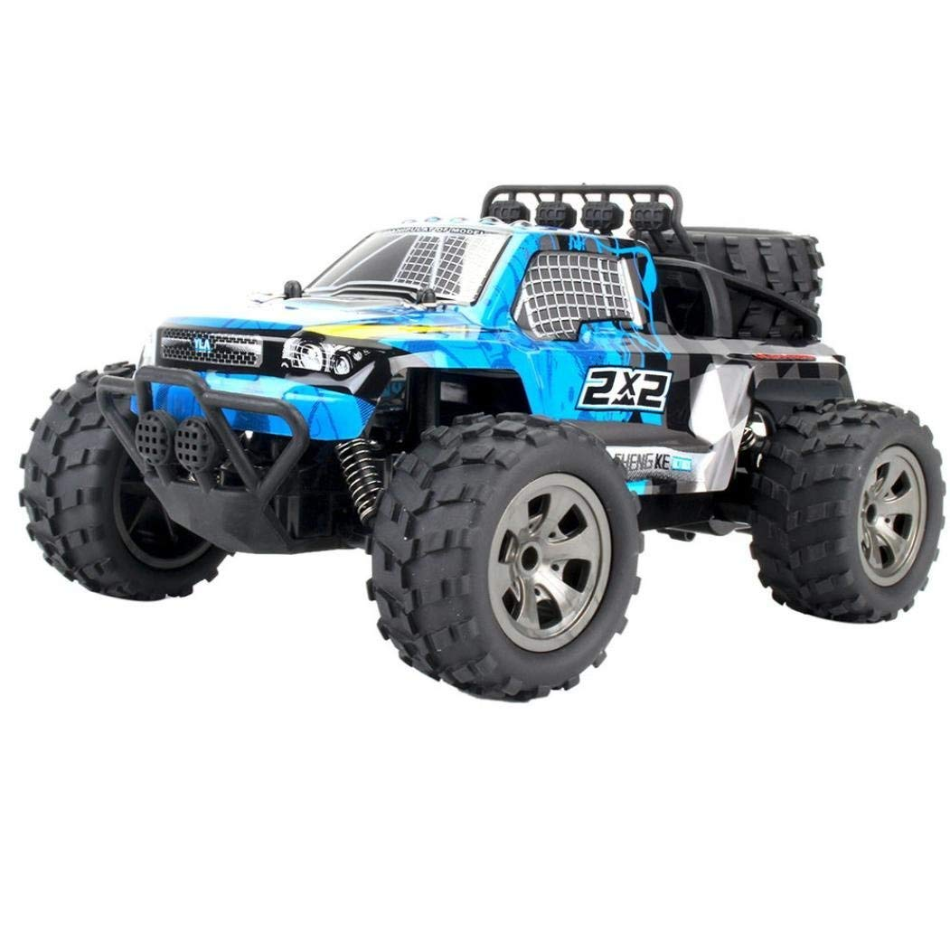 Yezijin Remote Control Car, 1:18 2WD High Speed RC Racing Car Remote Control CaseTruck Off-Road Buggy Toys