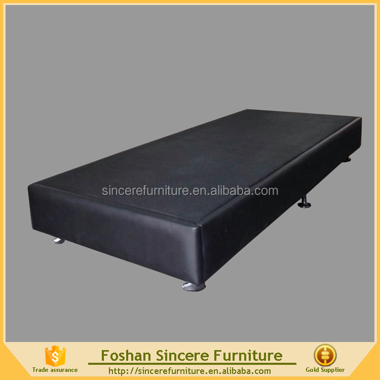Upholstery wooden KD bed foundation