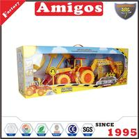 cheap Remote truck excavator/loader/sand shovel/rake/accessories plastic radio control engineering vehicle