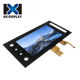 7inch capacitive touch screen custom lcd advertising touch monitor