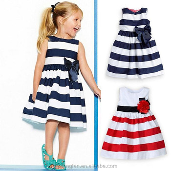 Wholesale Black And White Flower Girl Dresses Kids Girls Dresses