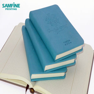 Custom FSC paper hardback pocket diary notebook with own embossing logo