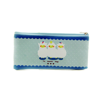 cute pencil bag custom zipper pen case