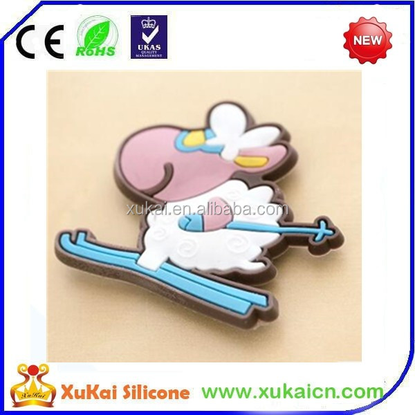 custom design silicone fridge magnet with cheap price