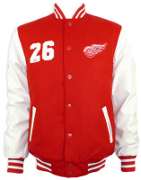 Embroidered Custom Wool And Leather Varsity Jacket , Varsity Jacket With Embroidery , letterman Varsity Jackets.