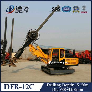 15-20m Hydraulic Screw Piling Machines For Jetty Construction - Buy Piling  Machines For Jetty Construction,Screw Piling Machines,Pile Driving Machine