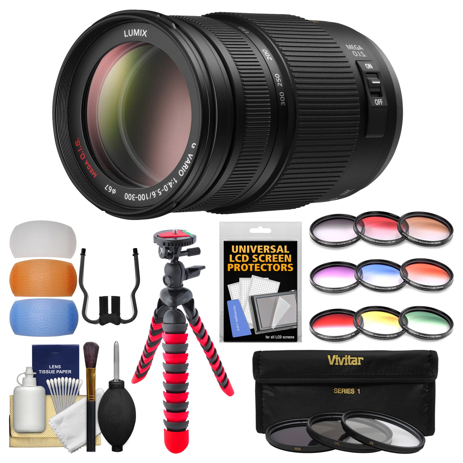 Cheap Mega Ois Find Deals On Line At Alibabacom Panasonic G7 Kit 14 42 Ii Silver Leica 25mm F Get Quotations Lumix G 100 300mm 40 56 Zoom Lens With
