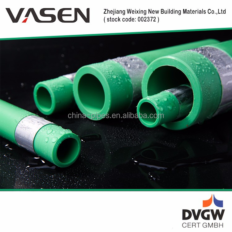 VASEN Plastic Building Materials 50 Years Life supply water ppr pipe