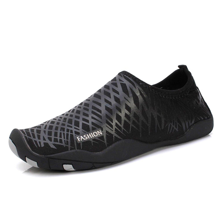 Enly Quick Dry Water Shoes Mens Womens Beach Swim Shoes Quick-Dry Aqua Socks Pool Shoes for Surf Yoga Water Aerobics
