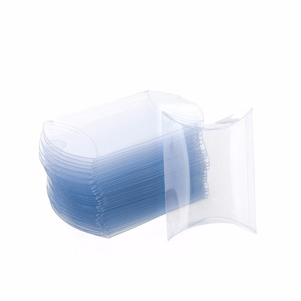 Clear packaging gift PVC box