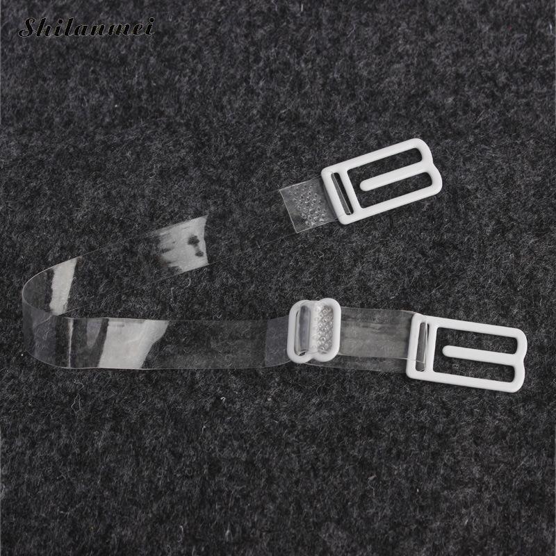 b5565789c2 1Pc Double-Shoulder Straps Slip-Resistant Belts Buckle Shoulder Straps Bra  Non-Slip Back Bra Straps Holder Adjustable 4 Colors