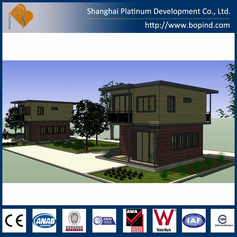 Prefabbricato a due piani contenitore casa case - Prefabbricato casa ...