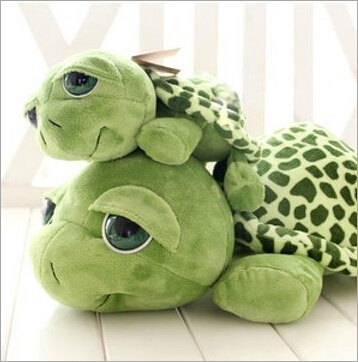1pcs 20cm Love Apartment lovely Big Eyes Small Turtle Tortoise Doll Baby Toy Cute Doll Plush Toys Girls Gifts free shipping