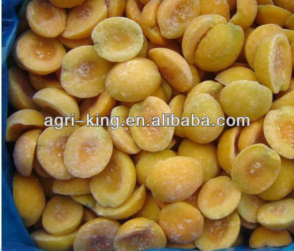 High evaluation 2016 chinese frozen iqf yellow peach