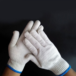 Promo wholesale factory price cotton construction gloves