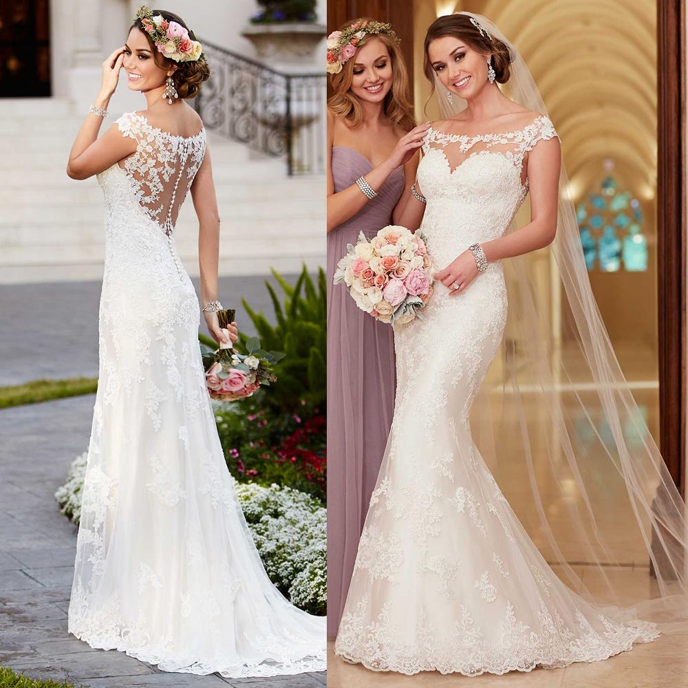 Wedding Dress Boho Wedding Dress Infinity Wedding Dress: Aliexpress.com : Buy Vintage Lace Wedding Dress Mermaid
