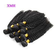 Alibaba best sellers African curly weft hair extensions natural color malaysian human hair bundles