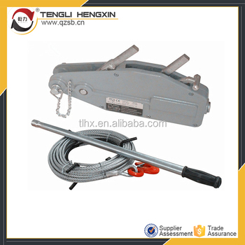 Best Quality Wire Rope Lever Hoist Manual Cable Puller - Buy Wire ...