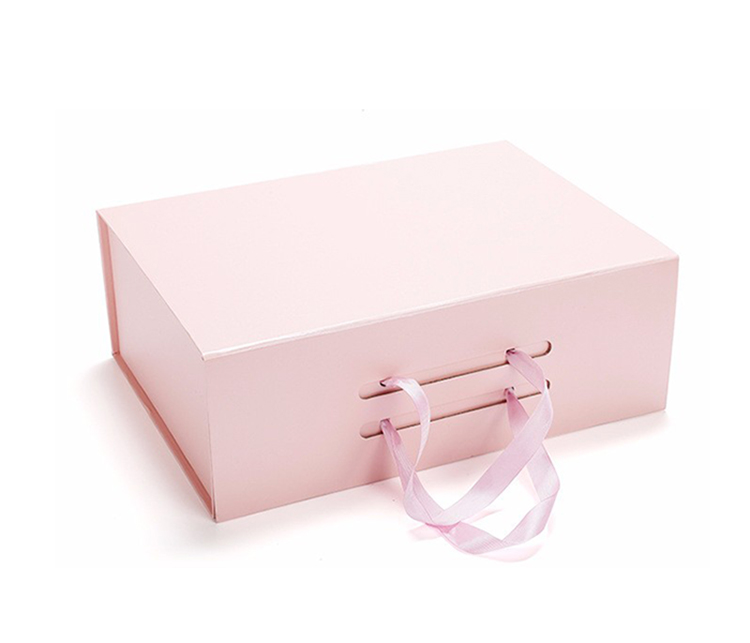 China supplier custom design magnetic flat folding gift box