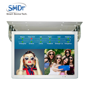 Popular bus video advertising player led taxi monitor android smart 4G digital signage network media player