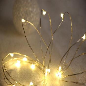 Top Sale Super Bright 1m 2m 3m Multicolor Led Copper Wire String Lights