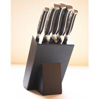 Kitchen cooking knife unique design stainless steel kitchen set