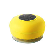 Nirkabel Mini Portable Speaker Silikon Suction Piala Audio Speaker