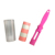 Sticky Cleaning Lint Roller with Plastic Cover Pet Hair Remover Cloth Dust Remover