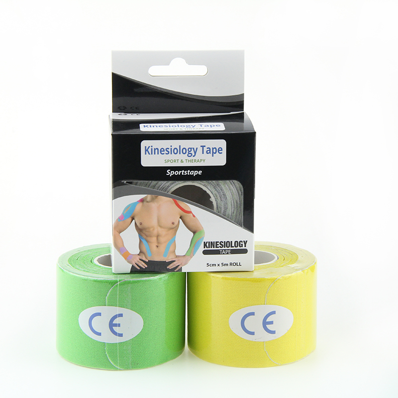 5cmx5m 2x16.4ft wemade skin breathable professional strong elasticity medical sports muscle tape kinesiology tape