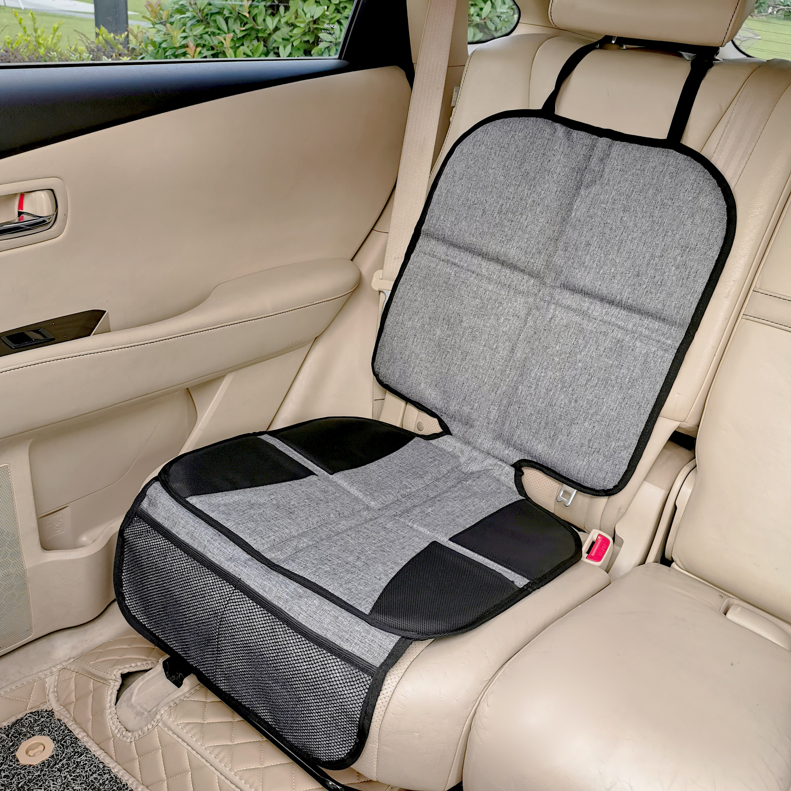 Hot selling Duurzaam Dikste Padding Waterdichte 600D Stof car seat protector