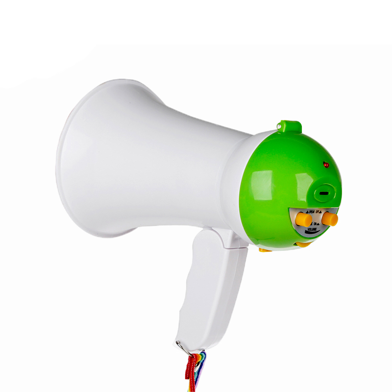5W children small plastic toy mini megaphone
